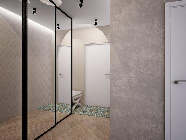 Фотография: Прихожая в стиле Лофт, Современный, Классический, Квартира, Планировки, Мебель и свет, Проект недели – фото на InMyRoom.ru