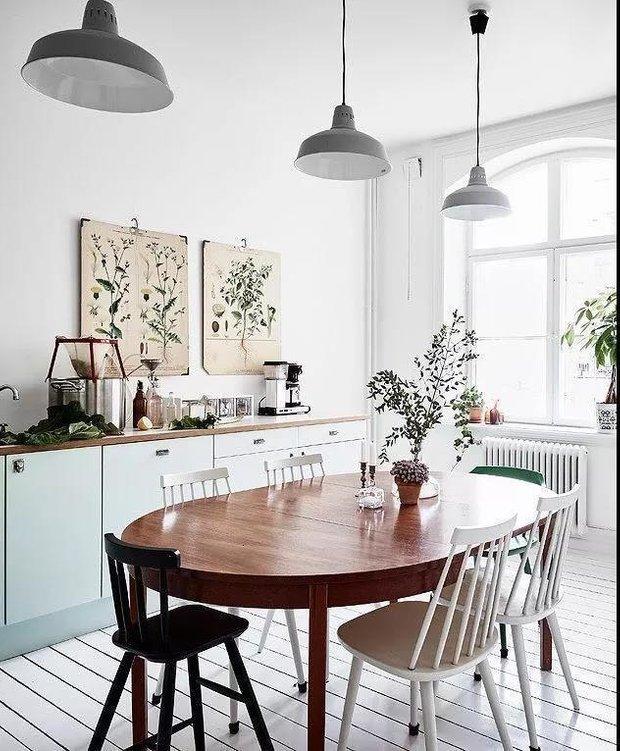 Фотография: Кухня и столовая в стиле Скандинавский, Советы, здоровый микроклимат в квартире – фото на INMYROOM