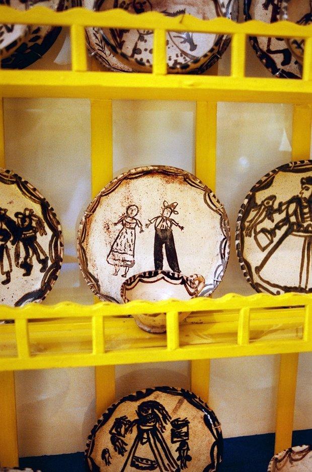Фотография:  в стиле , Декор интерьера, Дом, Голубой, Мексика, Дом и дача, Мехико, Фрида Кало – фото на INMYROOM