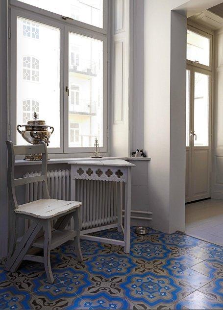 Фотография: Прихожая в стиле Прованс и Кантри, Декор интерьера, Декор дома, Плитка, Ремонт на практике – фото на INMYROOM