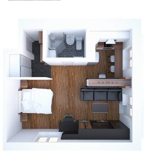 Фотография: Прочее в стиле , Блочный дом, И-209 – фото на INMYROOM