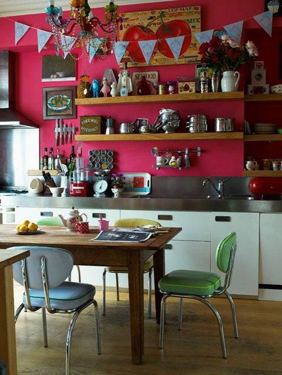 Фотография: Кухня и столовая в стиле Прованс и Кантри, Интерьер комнат – фото на InMyRoom.ru