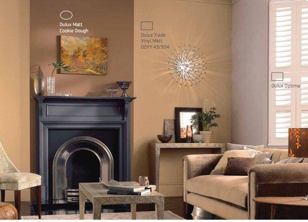 Фотография: Гостиная в стиле , Декор интерьера, Дизайн интерьера, Цвет в интерьере, Dulux – фото на INMYROOM