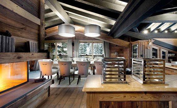 Фотография: Кухня и столовая в стиле Прованс и Кантри, Дом, Дома и квартиры, Шале – фото на INMYROOM