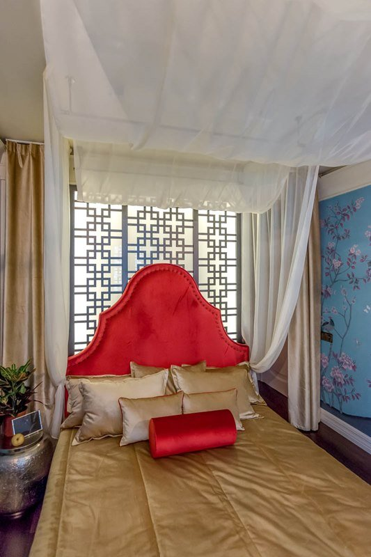 Фотография: Спальня в стиле Современный, Восточный, Декор интерьера, Интерьер комнат, Баухауз – фото на INMYROOM