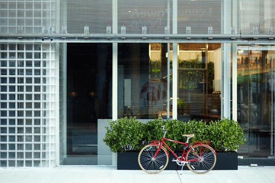 Фотография: Спальня в стиле Скандинавский, Дома и квартиры, Городские места – фото на INMYROOM