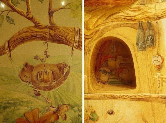 Фотография: Спальня в стиле Прованс и Кантри, Детская, Интерьер комнат – фото на InMyRoom.ru