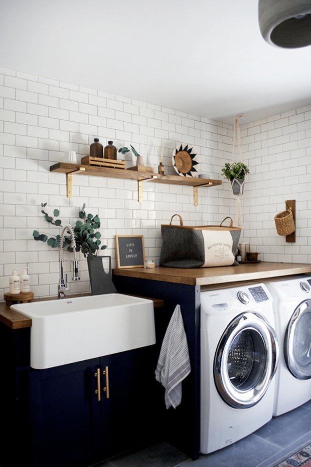 Фотография: Ванная в стиле Скандинавский, Атмосфера в доме – фото на INMYROOM
