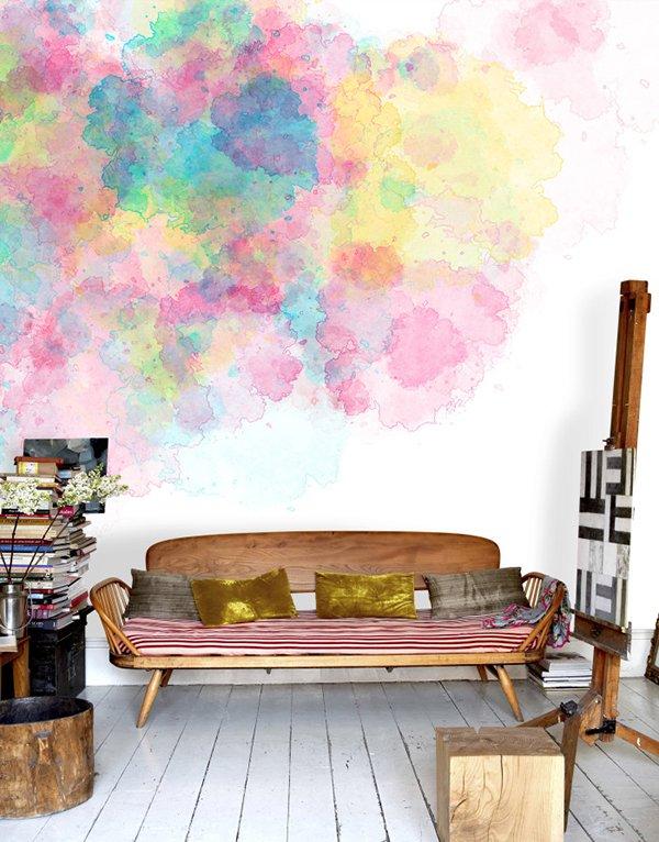 Фотография: Гостиная в стиле Скандинавский, Декор интерьера, Декор дома, Стена – фото на INMYROOM