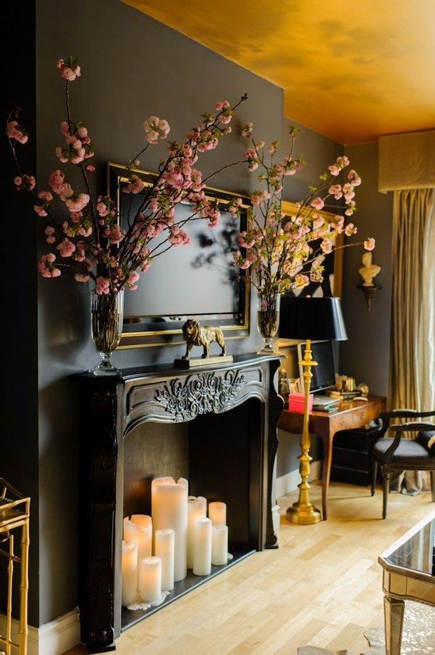 Фотография: Декор в стиле Эклектика, Декор интерьера, Декор дома, Камин – фото на INMYROOM