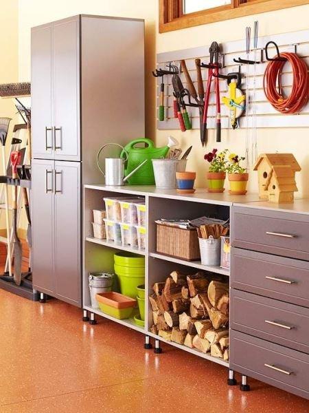 Фотография: Кухня и столовая в стиле Лофт, Прочее, Дом и дача, как обустроить гараж, хранение в гараже, как обустроить дачный сарай, идеи для гаража – фото на InMyRoom.ru