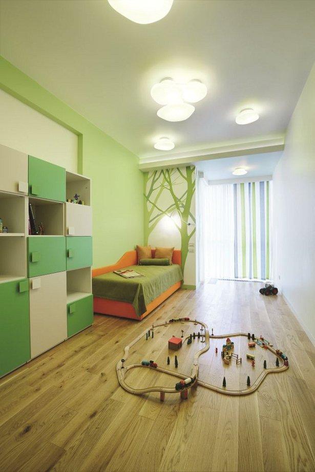 Фотография: Детская в стиле Современный, Квартира, Дома и квартиры, Проект недели, Перепланировка – фото на INMYROOM