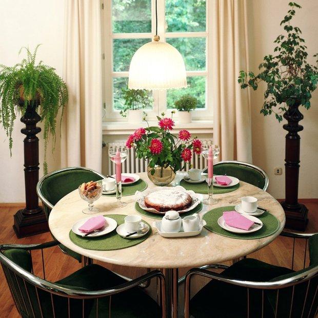 Фотография: Кухня и столовая в стиле , Декор интерьера, Декор дома, Цветы – фото на INMYROOM