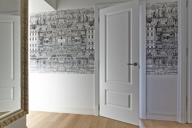 Фотография: Прихожая, Декор в стиле Скандинавский, Квартира, Цвет в интерьере, Дома и квартиры, Перепланировка, Серый – фото на INMYROOM