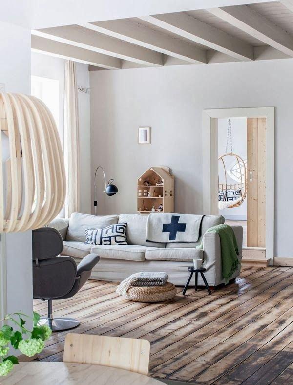 Фотография: Гостиная в стиле Скандинавский, DIY, Квартира, Советы, как облегчить быт – фото на InMyRoom.ru