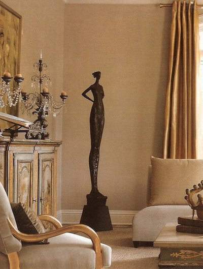 Фотография: Гостиная в стиле Прованс и Кантри, Декор интерьера, Дом, Декор дома, Цвет в интерьере – фото на INMYROOM