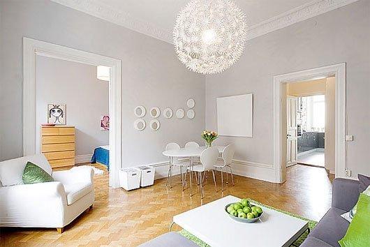 Фотография: Гостиная в стиле Скандинавский, Декор интерьера, Мебель и свет, Советы – фото на INMYROOM