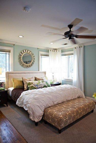 Фотография: Спальня в стиле Прованс и Кантри, Декор интерьера, Малогабаритная квартира, Квартира, Дома и квартиры – фото на INMYROOM