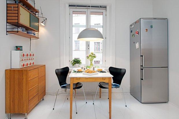 Фотография: Кухня и столовая в стиле Лофт, Интерьер комнат, Бытовая техника – фото на INMYROOM