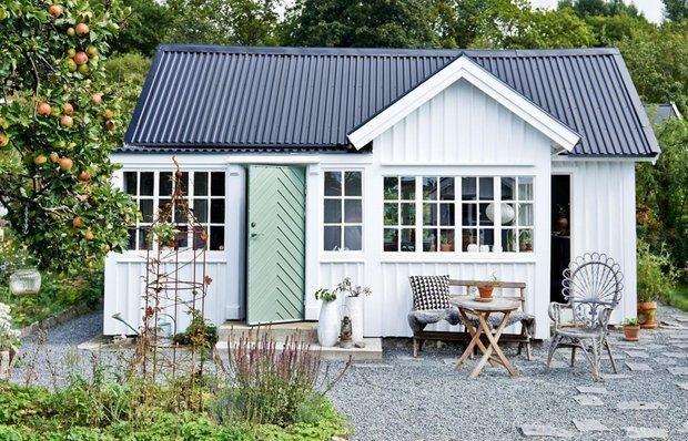Фотография:  в стиле , Дом, Дом и дача, до 40 метров – фото на INMYROOM
