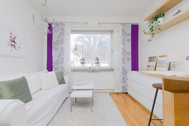 Фотография: Гостиная в стиле Скандинавский, Малогабаритная квартира, Квартира, Дома и квартиры, Проект недели – фото на INMYROOM