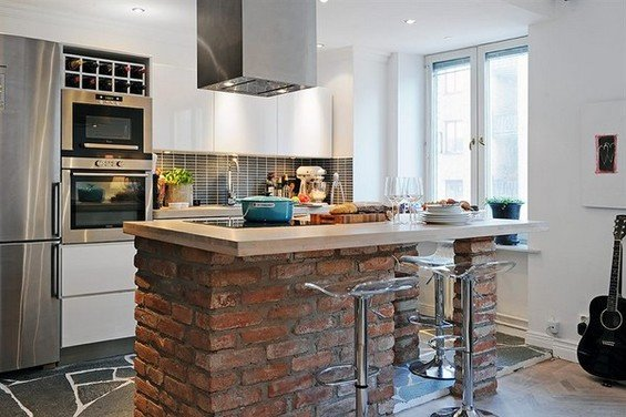 Фотография: Кухня и столовая в стиле Лофт, Скандинавский, Декор интерьера, Мебель и свет – фото на INMYROOM