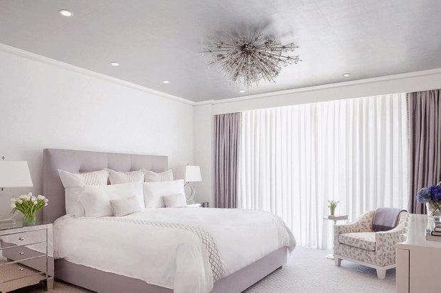 Фотография: Спальня в стиле Современный, Эклектика, Интерьер комнат, Цвет в интерьере, Советы – фото на INMYROOM