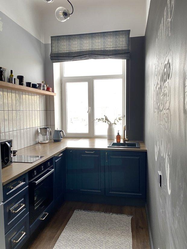 Кухонные фасады купили в Леруа Мерлен.