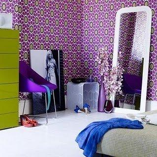 Фотография: Спальня в стиле Эклектика, Интерьер комнат, Кровать, Гардероб, Комод, Пуф, Табурет – фото на INMYROOM