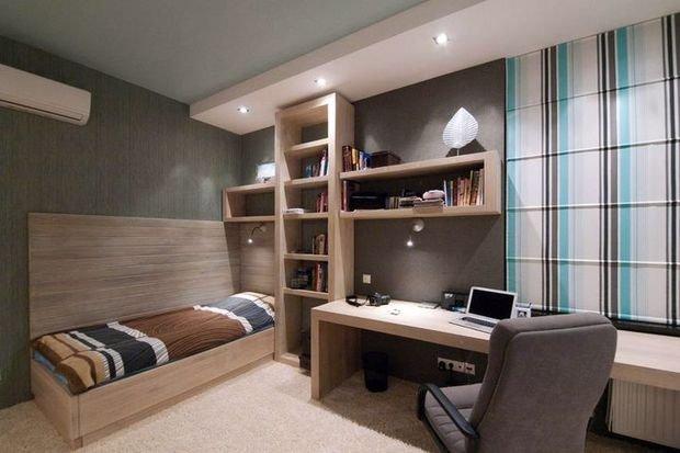 Фотография: Спальня в стиле Современный, Декор интерьера, Малогабаритная квартира, Квартира, Студия – фото на INMYROOM