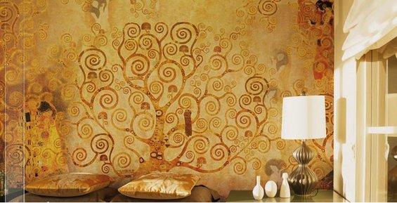 Фотография: Спальня в стиле Эклектика, Декор интерьера, Декор дома, Стены – фото на INMYROOM