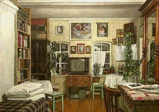 Панцырев Юрий Николаевич (Россия, 1950) «Интерьер» 1984