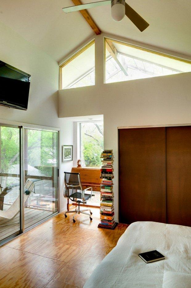 Фотография: Спальня в стиле Лофт, Дом, Дома и квартиры, Дача – фото на InMyRoom.ru
