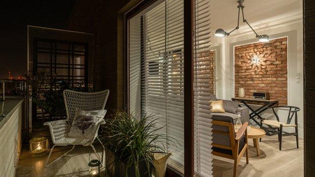Фотография: Балкон в стиле Современный, Декор интерьера, Малогабаритная квартира, Польша – фото на INMYROOM