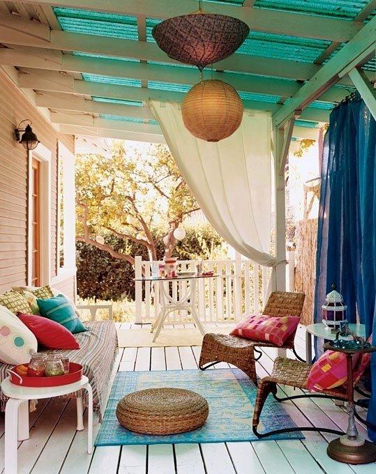 Фотография: Балкон, Терраса в стиле Восточный, Декор интерьера, Дом, Декор дома – фото на INMYROOM