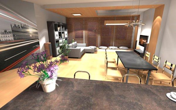 Фотография: Кухня и столовая в стиле Современный, Декор интерьера, Дизайн интерьера, Цвет в интерьере, Белый, Серый, Бирюзовый – фото на INMYROOM