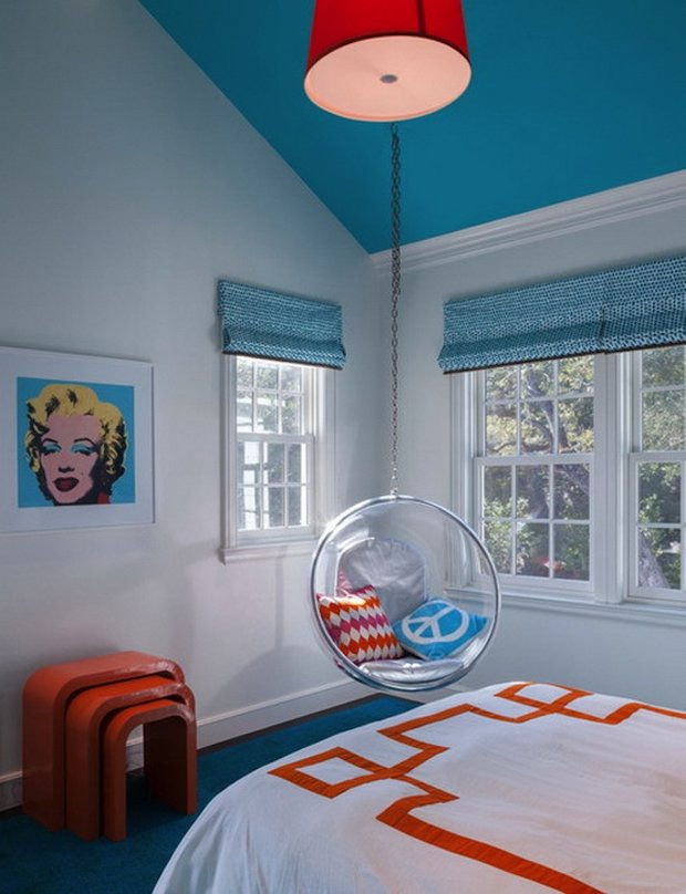 Фотография: Спальня в стиле Современный, Детская, Интерьер комнат, Декор – фото на INMYROOM