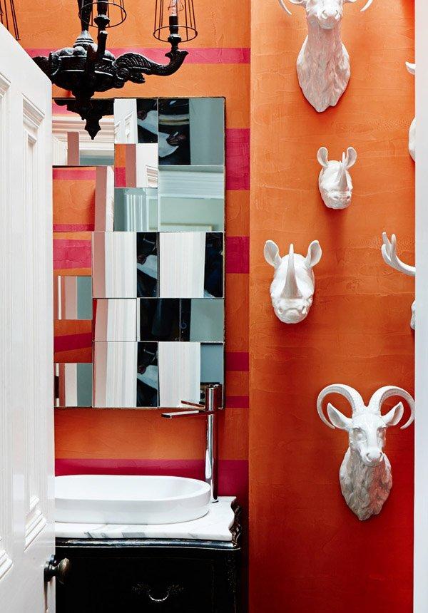 Фотография: Ванная в стиле Классический, Современный, Эклектика, Дом, Дома и квартиры – фото на INMYROOM