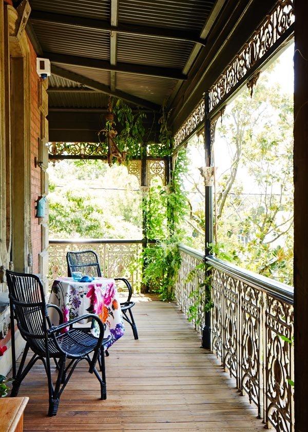 Фотография: Балкон, Терраса в стиле Классический, Современный, Эклектика, Дом, Дома и квартиры – фото на INMYROOM