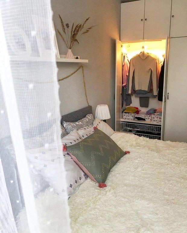 Фотография: Спальня в стиле Скандинавский, Современный,  – фото на INMYROOM
