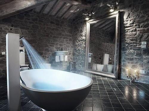 Фотография: Ванная в стиле Лофт, Декор интерьера, Дом, Мебель и свет, Футуризм – фото на INMYROOM