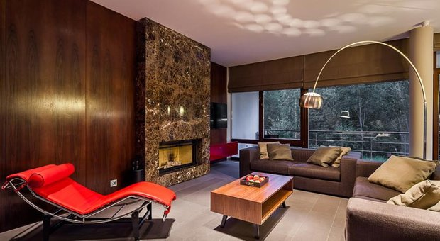 Фотография: Гостиная в стиле Современный, Дома и квартиры, Городские места, Отель, Проект недели – фото на InMyRoom.ru