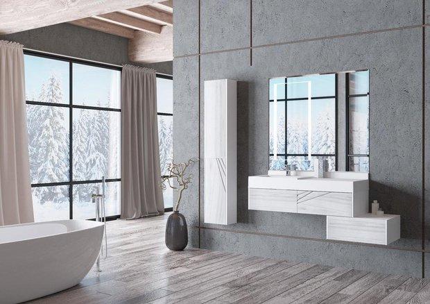 Фотография: Ванная в стиле Минимализм, Декор интерьера, Aquaton – фото на INMYROOM