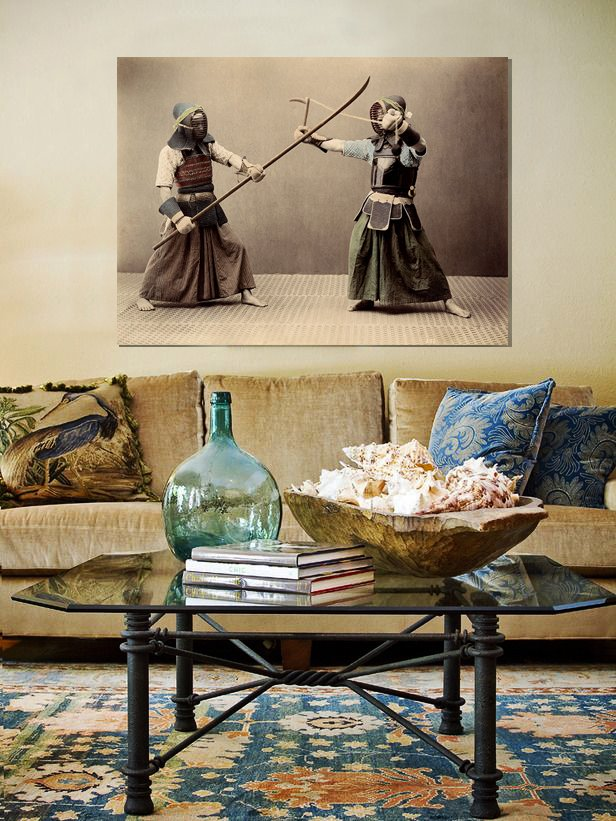 Фотография: Гостиная в стиле Восточный, Декор интерьера, Декор, Декор дома, Современное искусство – фото на INMYROOM