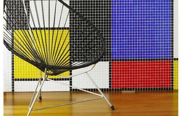 Фотография: Мебель и свет в стиле Эклектика, Декор интерьера, Декор дома, Цвет в интерьере, Кресло, Шкаф – фото на INMYROOM