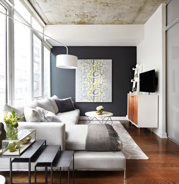 Фотография: Гостиная в стиле Скандинавский, Декор интерьера, Квартира, Дом – фото на INMYROOM