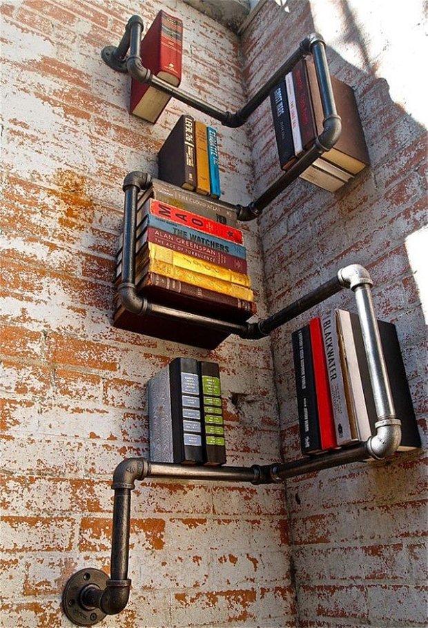 Фотография: Декор в стиле Современный, Системы хранения, Библиотека, Домашняя библиотека – фото на INMYROOM