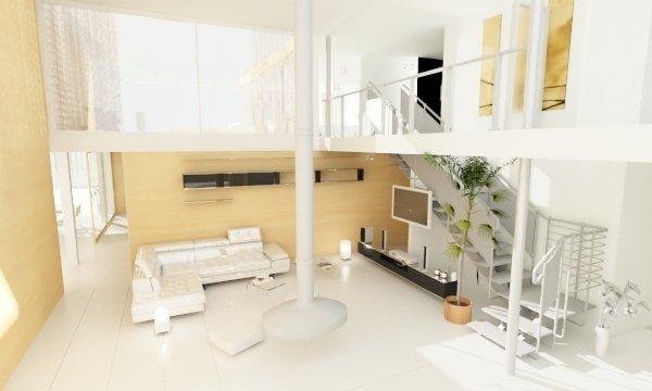 Фотография: Гостиная в стиле Современный, Минимализм, Дом, Дома и квартиры, Архитектурные объекты – фото на INMYROOM