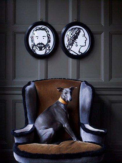 Фотография: Декор в стиле Эклектика, Декор интерьера, Мебель и свет, Декор дома, Кресло – фото на INMYROOM