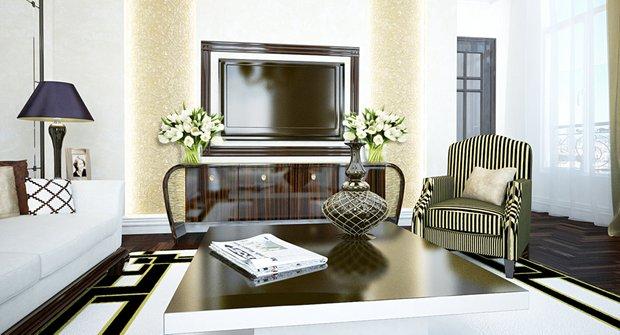 Фотография: Гостиная в стиле Современный, Квартира, Дома и квартиры, Архитектурные объекты, Париж – фото на INMYROOM